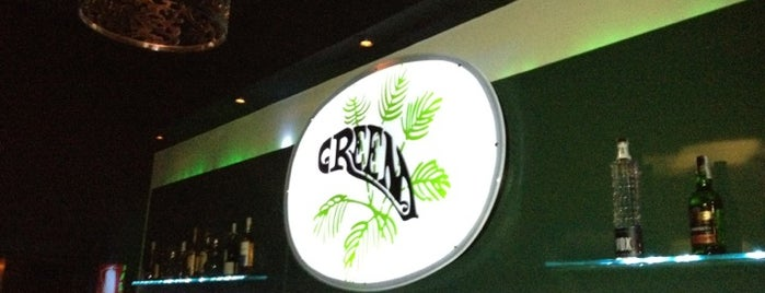 Green is one of Gins Madrid.