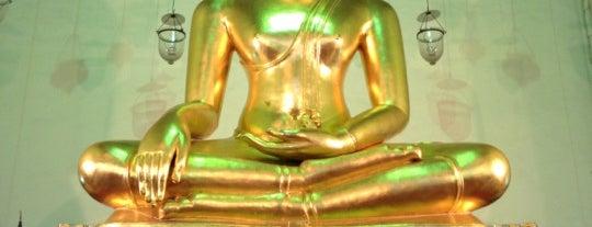 วัดมหรรณพารามวรวิหาร (Wat Mahannapharam) is one of iPhone Walking Tours of Bangkok, Thailand.