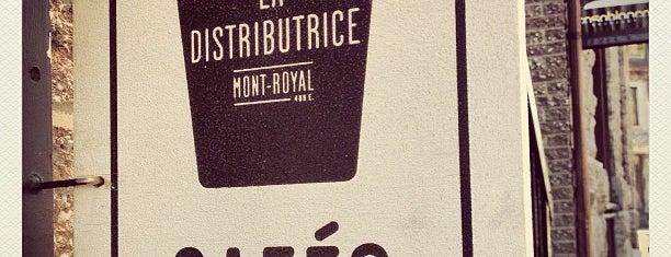 La Distributrice is one of Montréal.