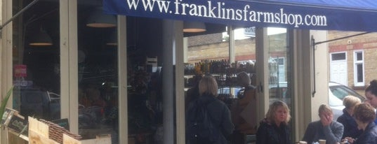 Franklins Restaurant is one of South East London.