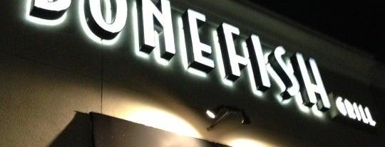 Bonefish Grill is one of Restaurants.