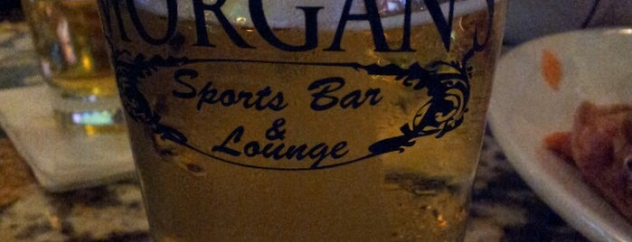 Morgan's Sports Bar & Lounge is one of Local Redskins Rally Bars.