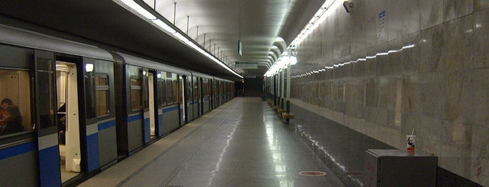 Метро Улица Старокачаловская (metro Ulitsa Starokachalovskaya) is one of Complete list of Moscow subway stations.