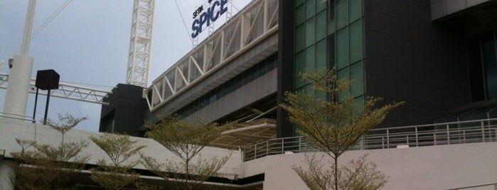 Subterranean Penang International Convention & Exhibition Centre (SPICE) is one of stadium.
