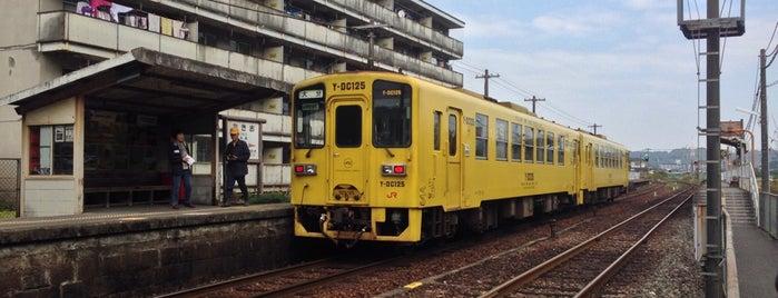 滝尾駅 is one of 豊肥本線.