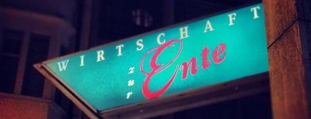 Restaurant Ente is one of Lozärner Fasnacht 2012.