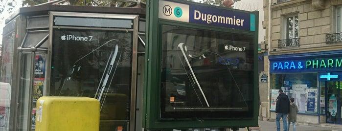 Métro Dugommier [6] is one of Métro de Paris.