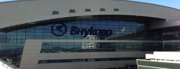 Vnukovo International Airport (VKO) is one of Dima airports.