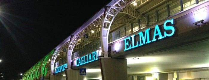 """Aeroporto di Cagliari Elmas """"Mario Mameli"""" (CAG) is one of Luoghi."""