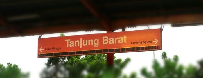 Stasiun Tanjung Barat is one of jihan.