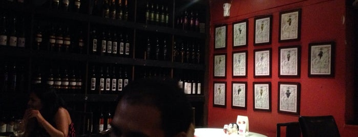 Ivy Wine Cafe & Bistro (Indage India Ltd.) is one of Best watering holes in Central Bombay.