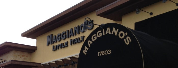 Maggiano's Little Italy is one of Food.