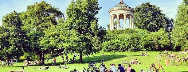 Englischer Garten is one of Munich tips.