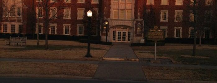 Ellison Hall is one of University of Oklahoma.