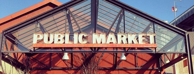 Granville Island Public Market is one of Vancouver.