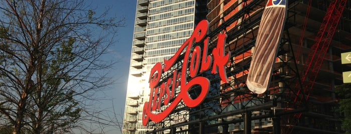 Pepsi Cola Sign is one of NYC Stay-cation.
