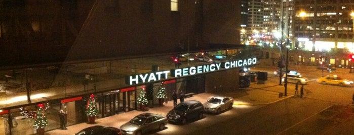 Hyatt Regency Chicago is one of Chicago To Do's.
