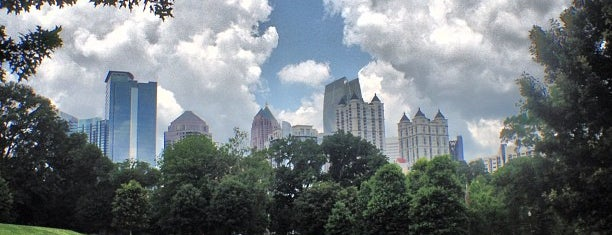 Piedmont Park is one of things to do in atlanta.