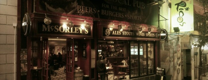 McSorley's Ale House is one of wanna try next.