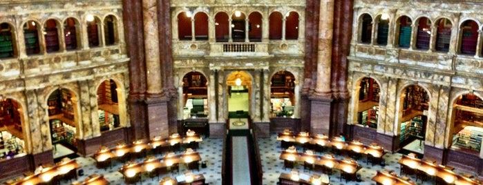 Library of Congress is one of Travel Channel Food Badges.