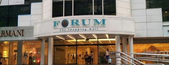 Forum The Shopping Mall is one of singapore.