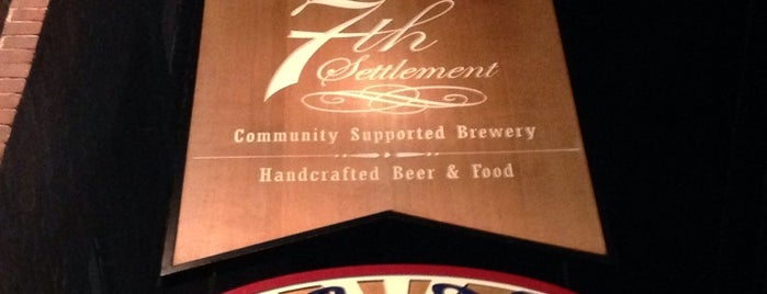 7th Settlement is one of New England Breweries.