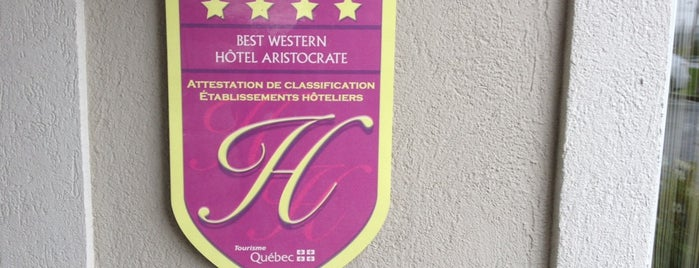 Best Western Premier Hotel Aristocrate is one of Hotels.