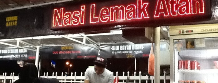 Nasi Lemak Atan is one of Food Hunt.