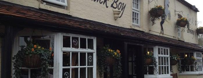 The Black Boy is one of 20 favorite restaurants.