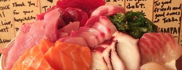 Tekka Japanese Restaurant is one of food.