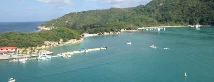 Labadee, Haiti is one of Scott's tips.