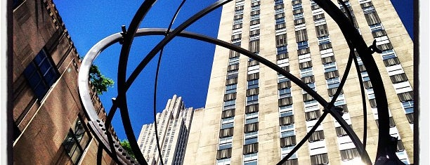 Rockefeller Center is one of Nyc.