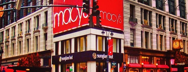 Macy's is one of NY Fundraiser Scavngr Hunt.