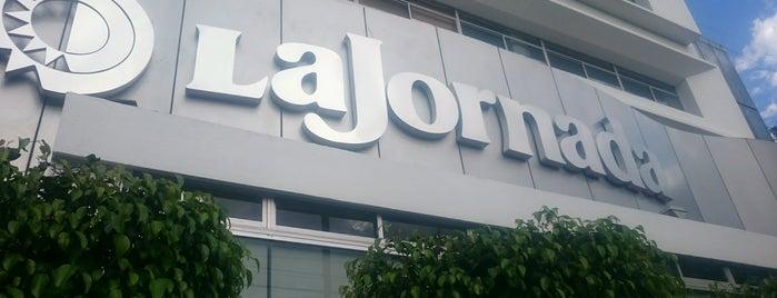 La Jornada is one of Medios del DF.