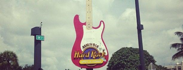 Hard Rock Cafe Hollywood FL is one of HARD ROCK CAFE'S.