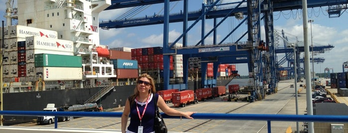 Wando Terminal State Ports is one of my charleston places.