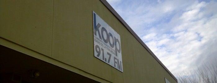 KOOP 91.7 FM is one of Favorite Arts & Entertainment.