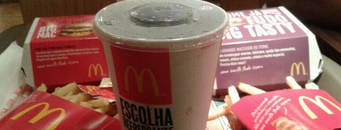 McDonald's is one of Comiiida.