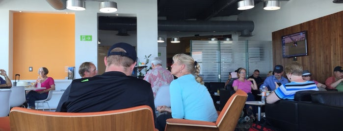 VIP Lounge Puerto Vallarta (PVR) is one of Dustin's tips.