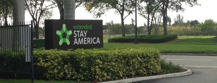extended STAY AMERICA is one of Mis lugares más queridos !.