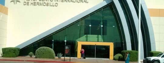 Aeropuerto Internacional De Hermosillo (Gral. Ignacio L. Pesqueira) is one of Airports.