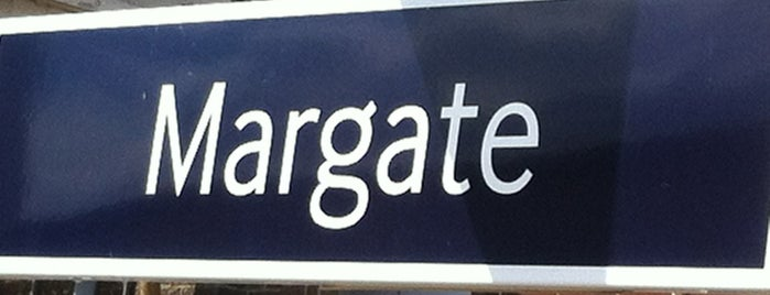 Margate Railway Station (MAR) is one of Train stations.
