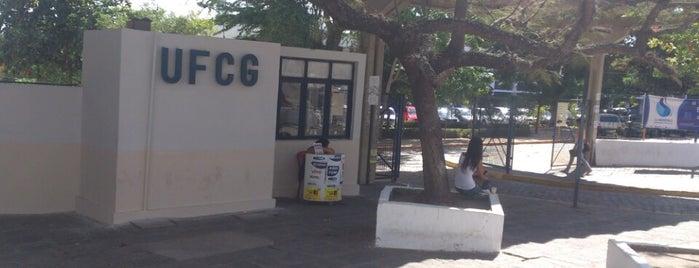 Universidade Federal de Campina Grande (UFCG) is one of Top 10 favorites places in Campina Grande, Brasil.