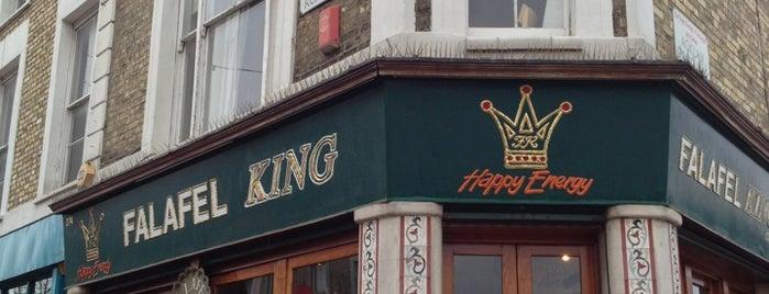 Falafel King is one of London Restaurants.