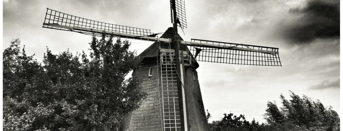 Molen Gabriël of Voorste Molen is one of Dutch Mills - North 1/2.