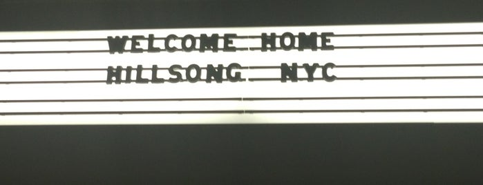 Hillsong NYC is one of NYC Soho & Little Italy.
