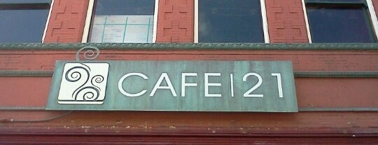 Cafe 21 is one of Favorite Restaurants.