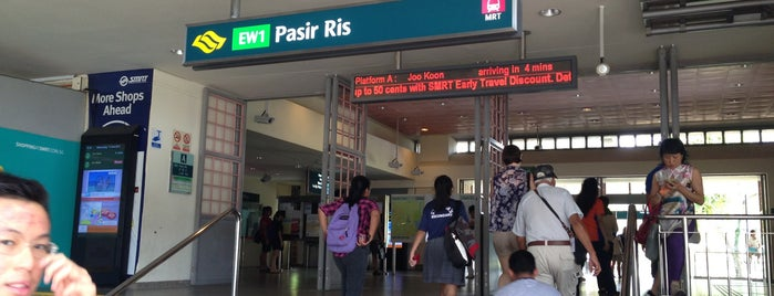Pasir Ris MRT Station (EW1) is one of Top 10 favorites places in Singapore.