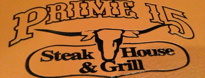 Prime 15 Steakhouse & Grill is one of Top picks for Steakhouses.