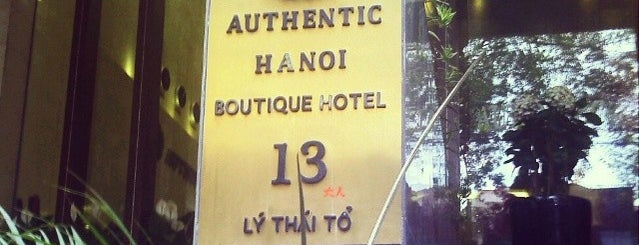 Authentic Hotel is one of Encik's Tips.